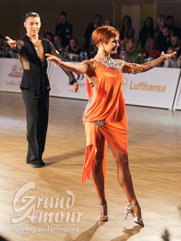 Timur Imametdinov & Nina Bezzubova, finalists of WDSFWorld Championships
