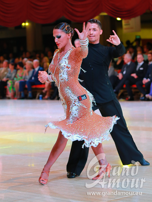 Francesco Bertini & Sabrina Manzi, the second place on Professional Rising Stars of Blackpool Dance Festival 2015